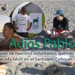 CODEFF entrega sus condolencias por fallecimiento del voluntario Pablo Vergara