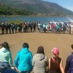Masiva convocatoria tuvo Festival de las Aves en Laguna San Pedro de Lonquimay