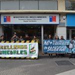 Exitosa concentración por la protección de los  Humedales en Concepción